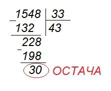 Дії другого ступеня з натуральними числами
