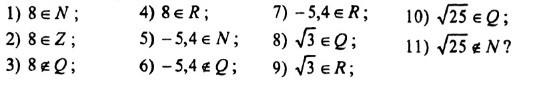 Множини чисел