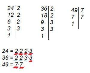 Розклад числа на прості множники